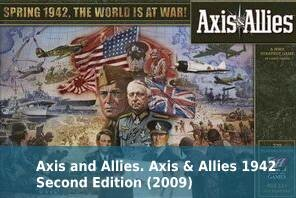 Axis and Allies. Axis & Allies 1942 Second Edition (2009)