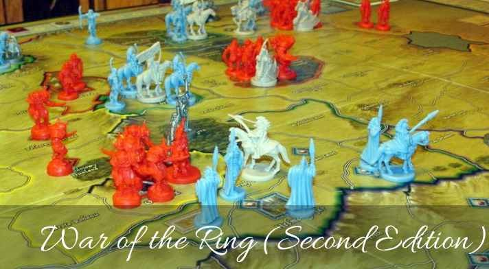 War of the Ring (Second Edition, 2012) best war strategy