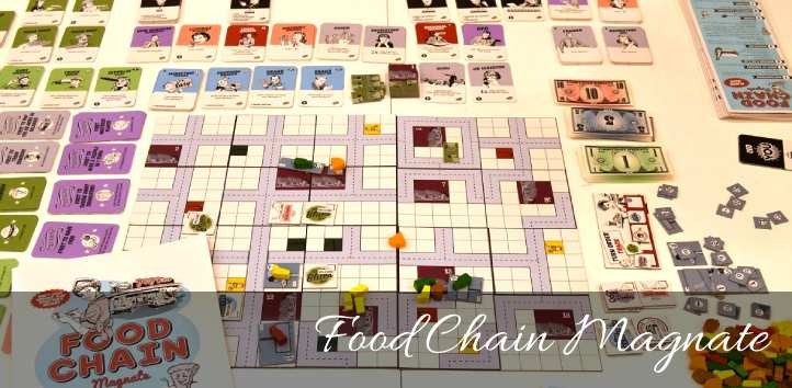 Best Economic Board Game Food Chain Magnate