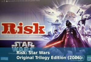 Risk: Star Wars Original Trilogy Edition (2006)
