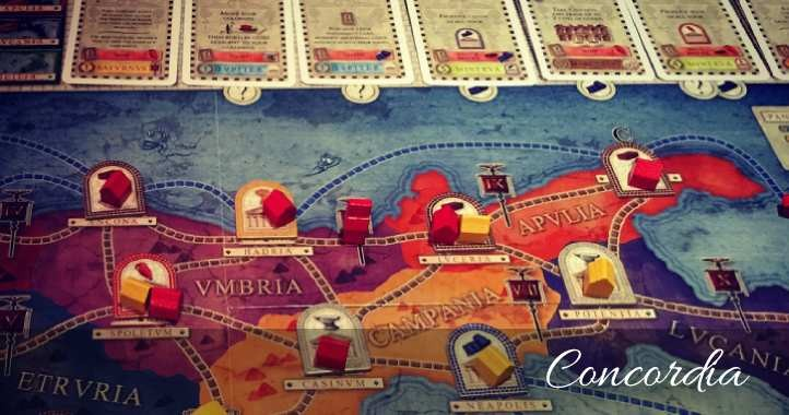 Concordia (2013) economic board game