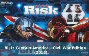 Risk: Captain America – Civil War Edition (2016)