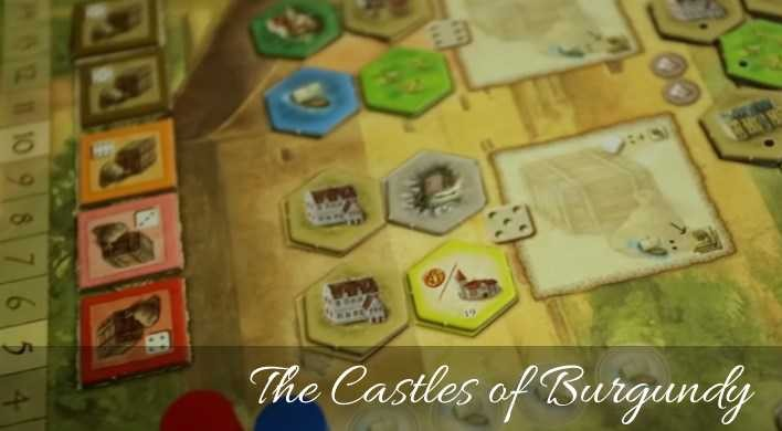 The Castles of Burgundy (2011) - Map
