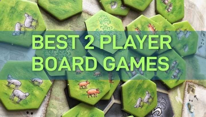 Best 2 Player Board Games for Couples, Adults: Light & Heavy